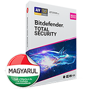 Bitdefender Total Security 2018 vírusirtó