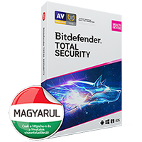 Bitdefender Total Security 2019 vírusirtó